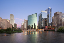 Chicago Skyline, Chicago River - Image #0009